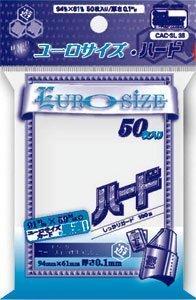 ホビーベース カードアクセサリ ユーロサイズ・ハード CAC-SL36