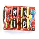 HiLetgo V3 彫刻 シールド 3D プリンタ CNC 拡張ボード A4988 ドライバーボード Arduinoと互換