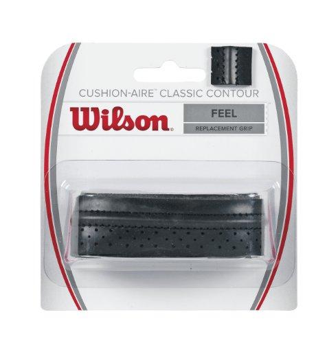 (WIMNE) Wilson(ウイルソン) グリップ CA CLASSIC CONTOUR REPL GRIP BK (クッションエアー クラシック コンツアー リプレイスメント グリップ) WRZ4203BK