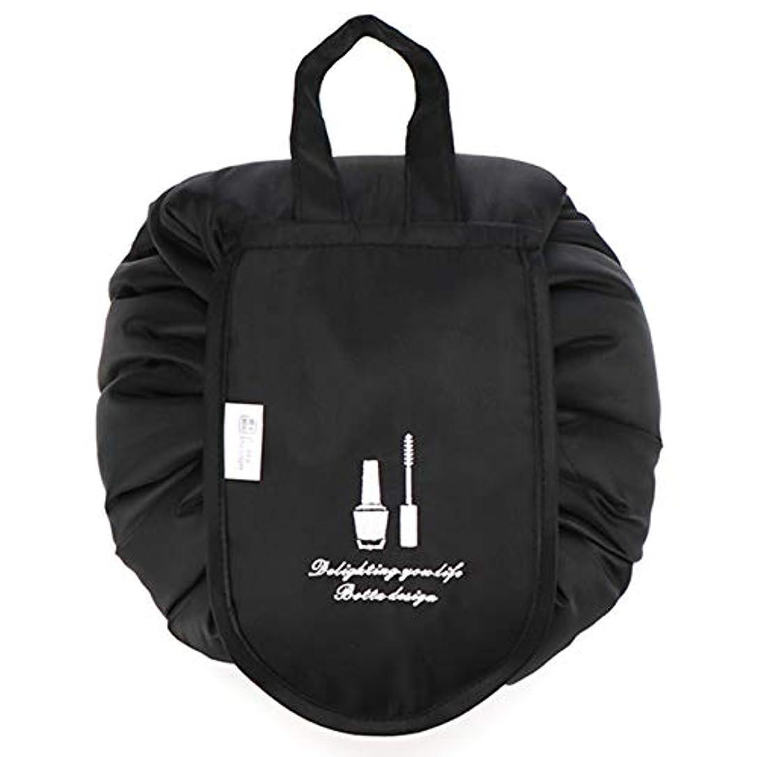 ドロップオプション管理する化粧ポーチ トイレタリーバッグ トラベルポーチ メイクポーチ ミニ 財布 機能的 大容量 化粧品収納 小物入れ 普段使い 出張 旅行 メイク ブラシ バッグ 化粧バッグ