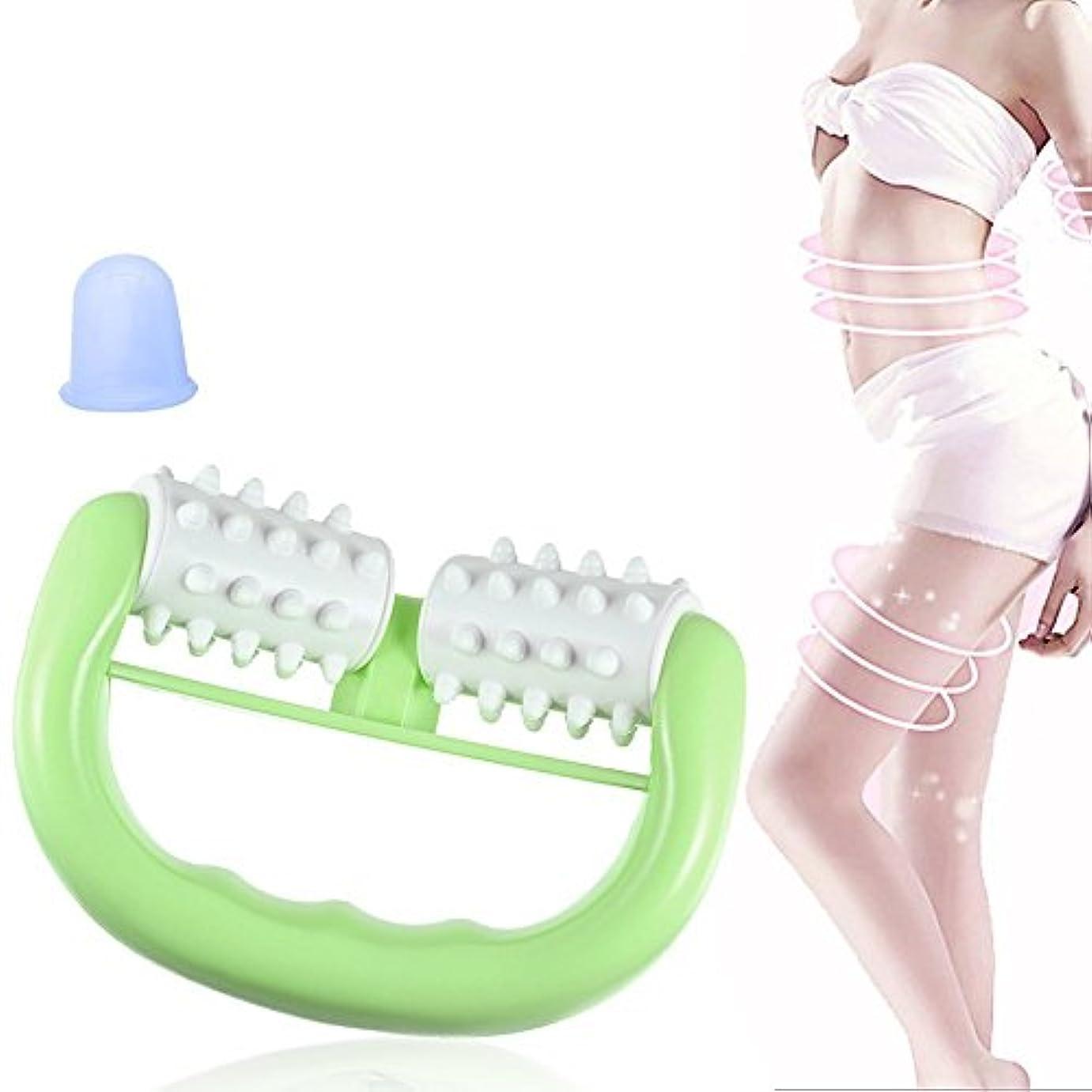 演じる緊張高いマッサージローラー マッサージカップ 筋筋膜リリース ダイエットボディローラー ツボ 筋肉 マッサージ シリコン 吸い玉 カップ