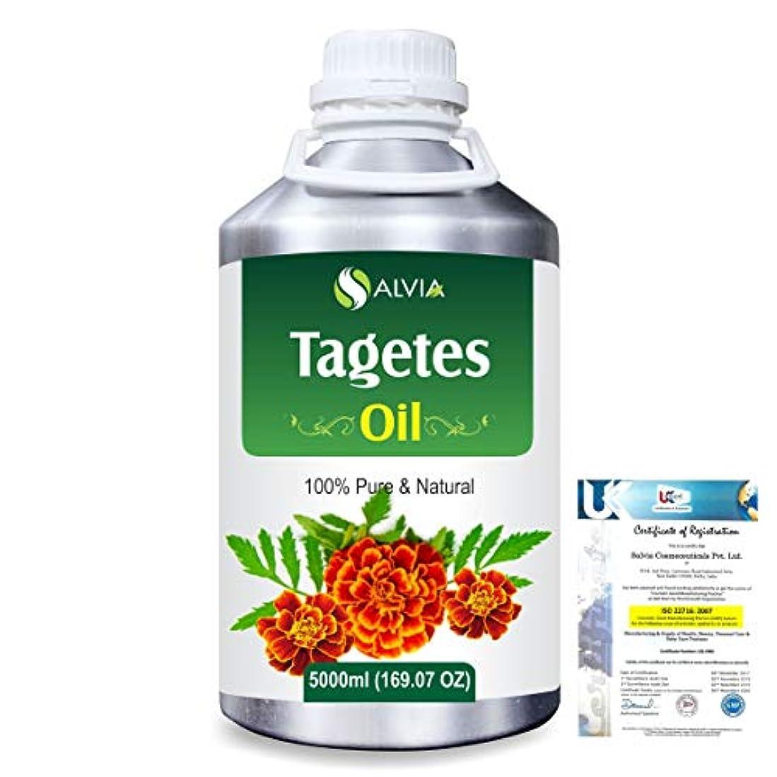 テナント曇った商標Tagetes (Tagetes Minuta) 100% Pure Natural Essential Oil 5000ml/169 fl.oz.