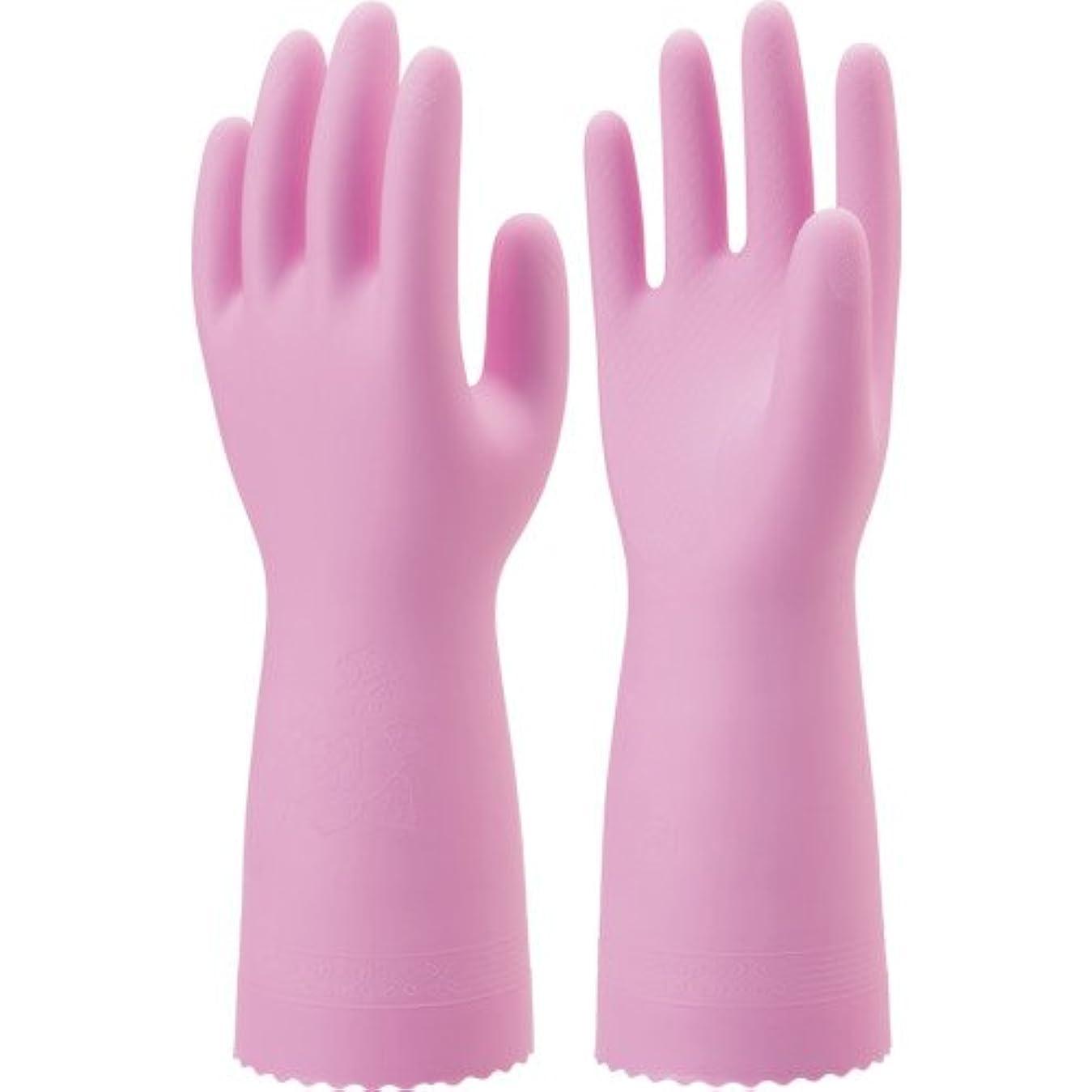 合成国内の経験的ナイスハンド ミュー 中厚手 ピンク Mサイズ
