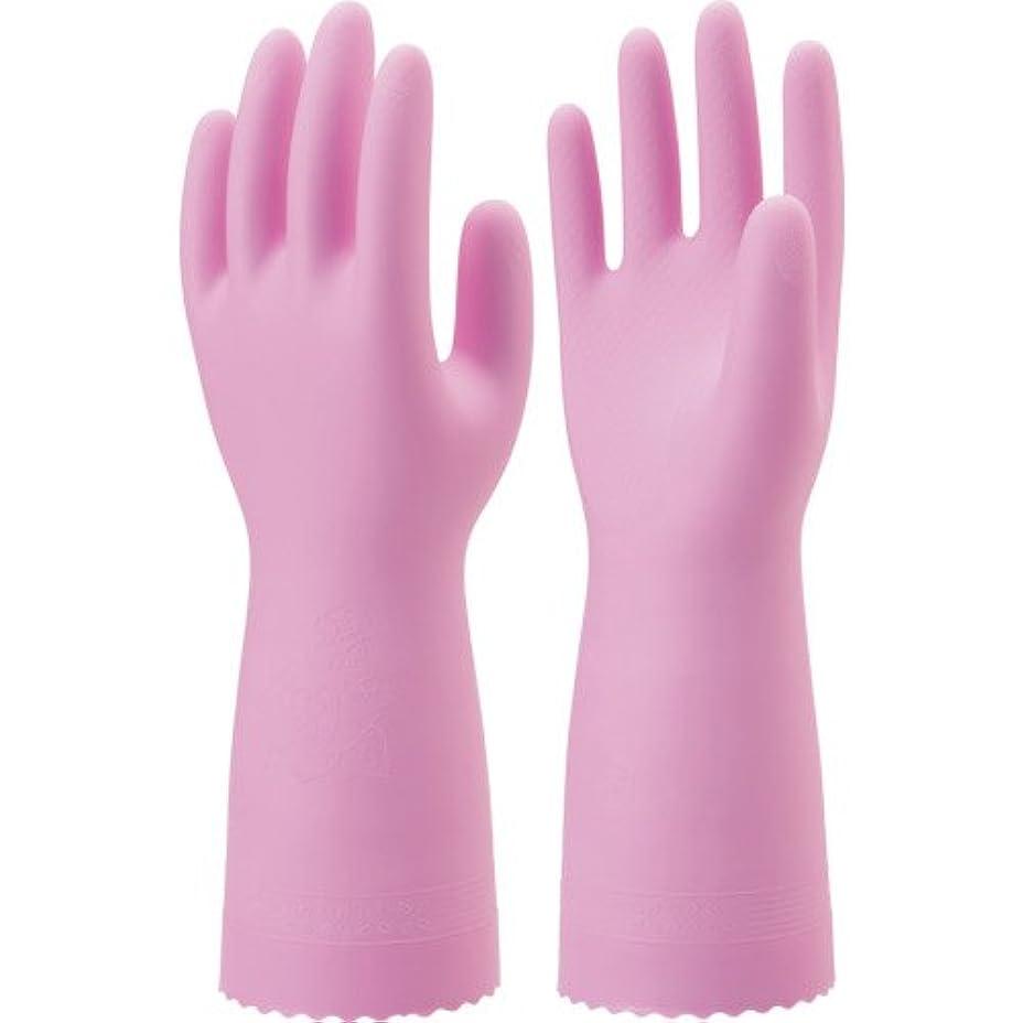 ソート群集酸っぱいナイスハンド ミュー 中厚手 ピンク Mサイズ