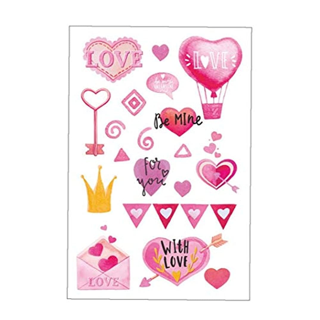独裁者ひねくれた害かわいい愛の形の自己接着剤ウォール荷物ステッカーリムーバブルポリ塩化ビニールスーツケースは、カップデカールルームのインテリアmu80023bラベル