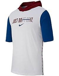 (ナイキ) Nike メンズ フィットネス?トレーニング トップス Short Sleeve Hooded T-Shirt [並行輸入品]