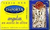 スペインの高級珍味【アングーラス】缶詰★うなぎの稚魚のオリーブ油漬け。高級南欧料理に欠かせない食材