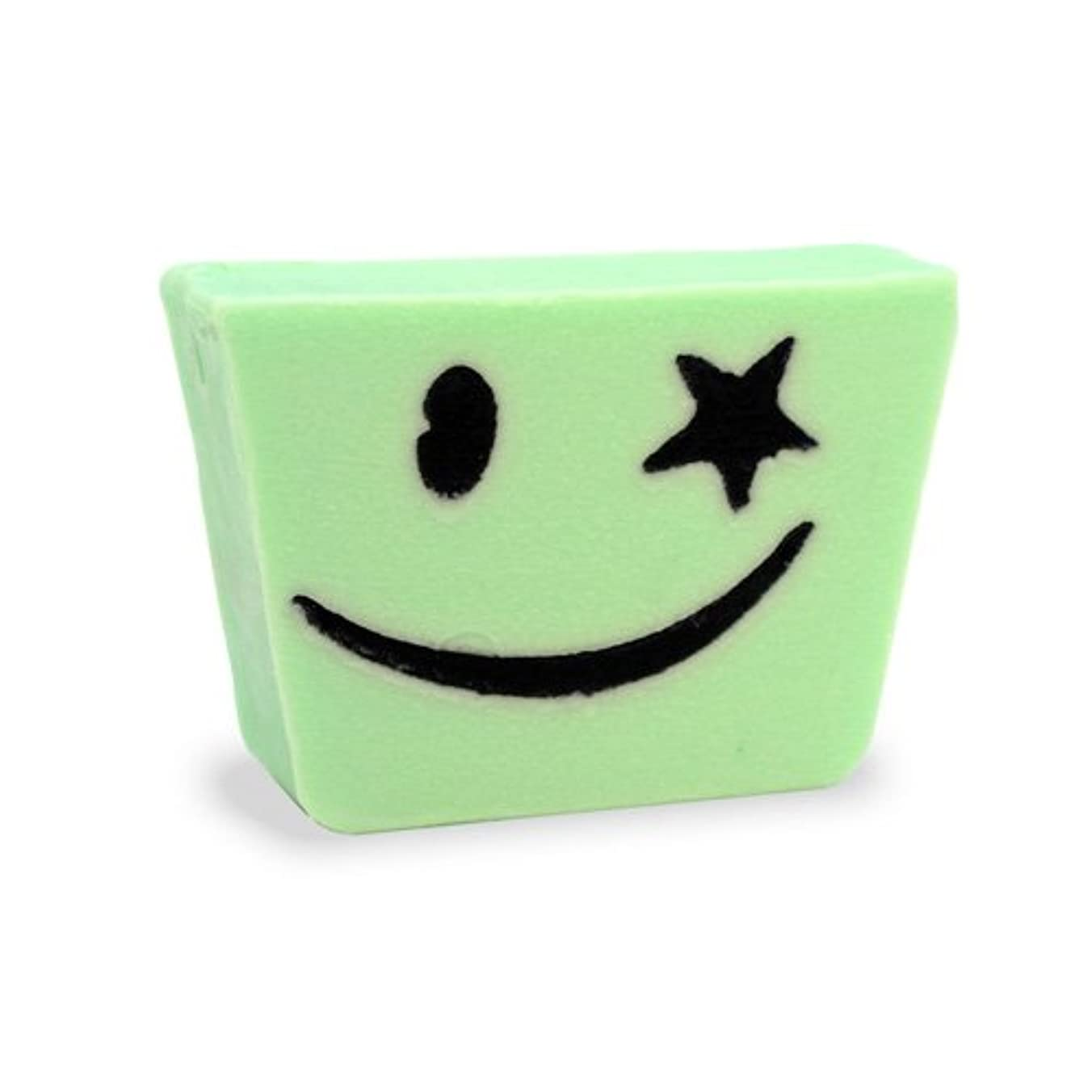 パズル娯楽装備するプライモールエレメンツ アロマティック ミニソープ ハッピーグリーン 80g 植物性 ナチュラル 石鹸 無添加