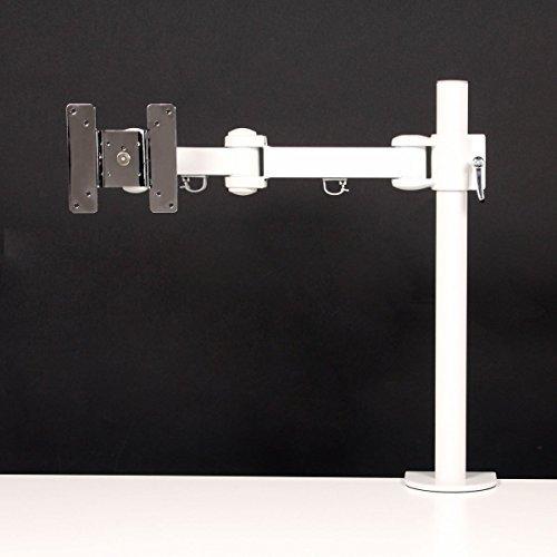 サンコー 4軸式くねくねモニターアーム(ホワイト) MARMGUS1920W