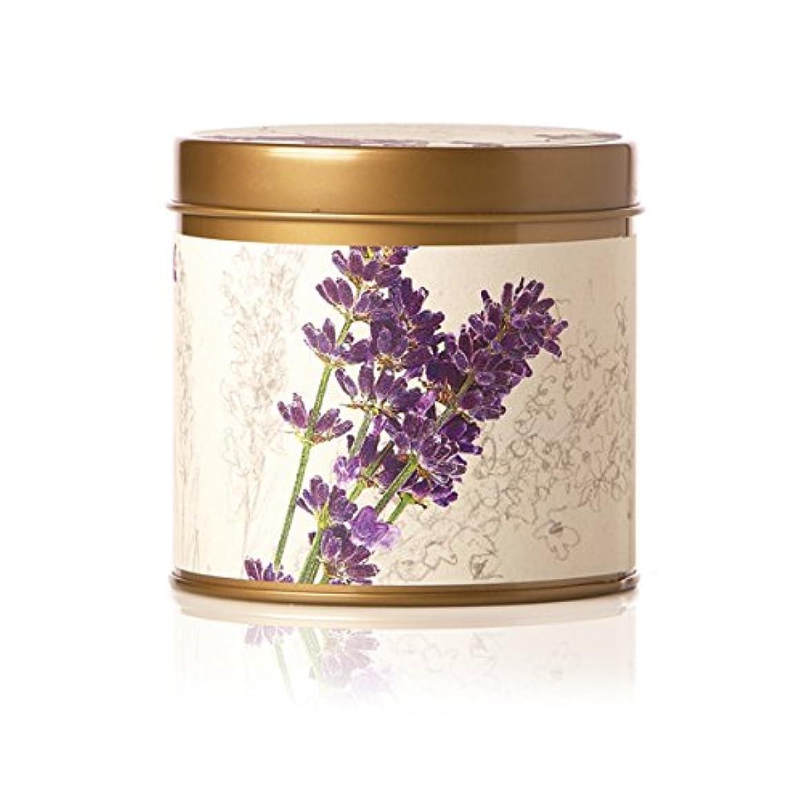 設計ママ大胆なロージーリングス ティンキャンドル ロマンラベンダー ROSY RINGS Signature Tin Roman Lavender