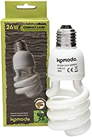 Komodo Compact Lamp UVB 5% ES 26W