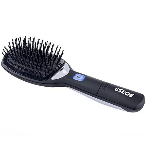 ESEOE ヘアブラシ マイナスイオンブラシ ヘアケア スタイリングブラシ 頭皮マッサージ 静電気防止 髪櫛 電動