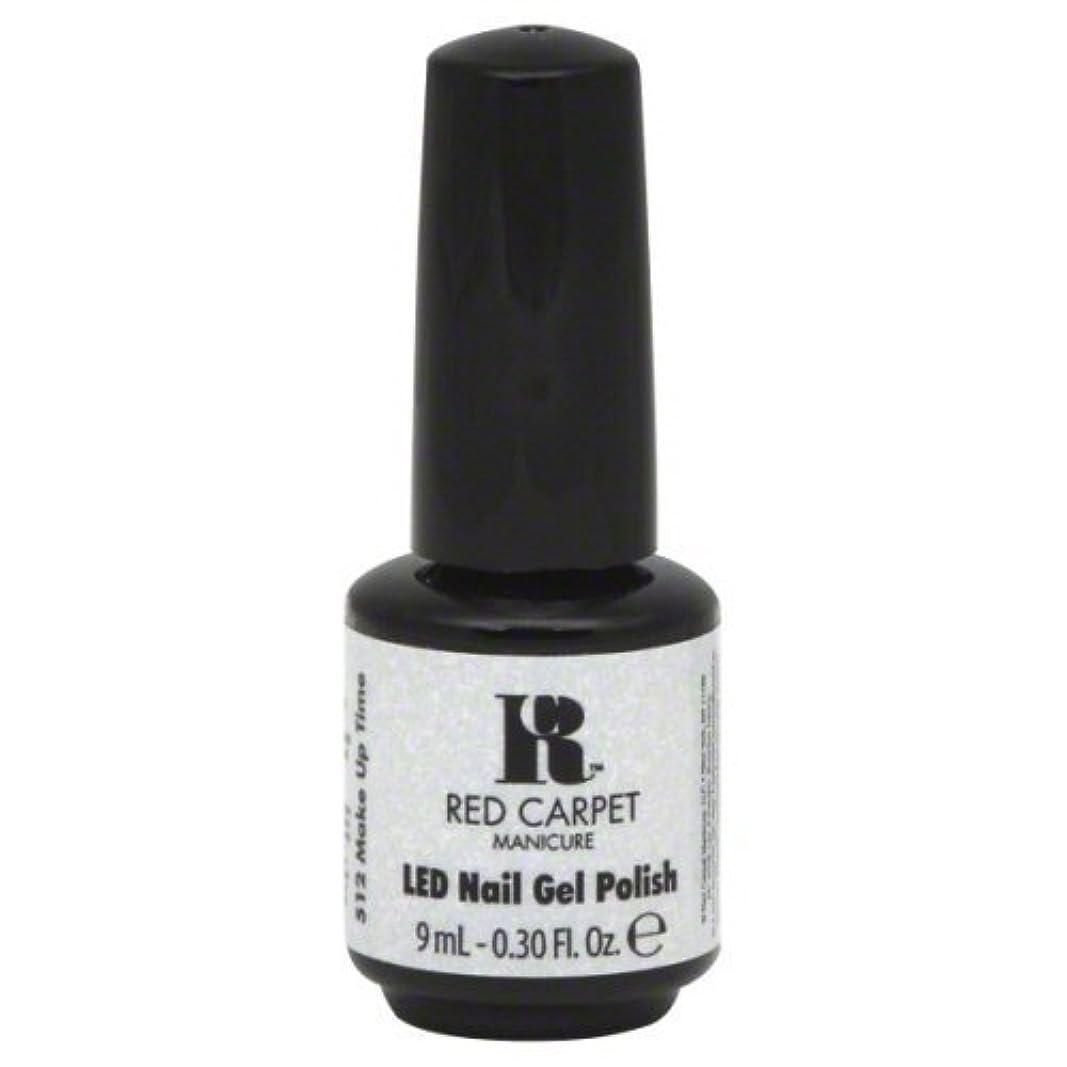 副めったに偽善者Red Carpet Manicure Gel Polish, Make Up Time, 0.3 Fluid Ounce by Red Carpet Manicure [並行輸入品]