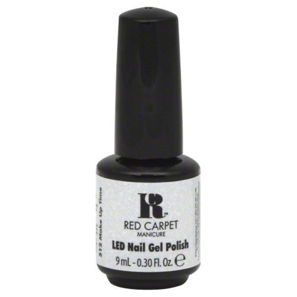 スクラッチ魅力的であることへのアピール追跡Red Carpet Manicure Gel Polish, Make Up Time, 0.3 Fluid Ounce by Red Carpet Manicure [並行輸入品]