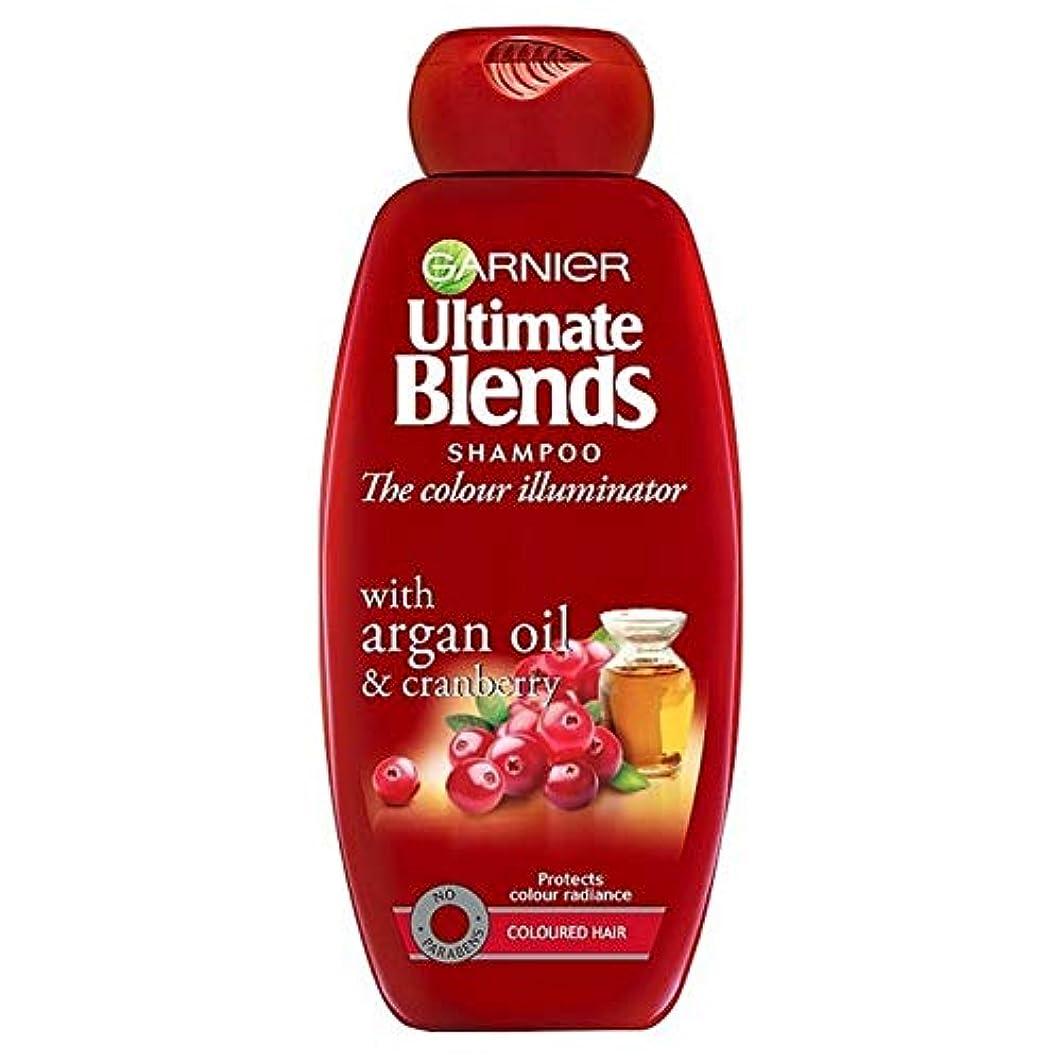 強制ペスト彼女[Garnier ] ガルニエ究極は、アルガンオイル色の髪のシャンプー360ミリリットルをブレンド - Garnier Ultimate Blends Argan Oil Coloured Hair Shampoo 360ml [並行輸入品]