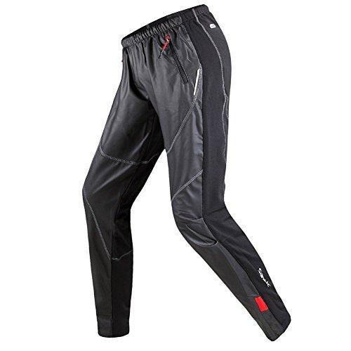 SANTIC サンティック サイクリング フリース サーマル ウインド パンツ 冬 パンツ タイツ ジェームス ブラ...