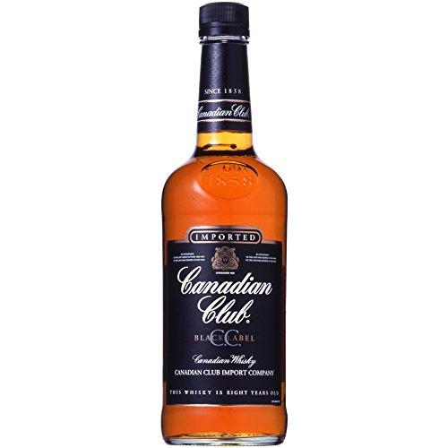 カナディアン ウイスキー カナディアン クラブ ブラックラベル...