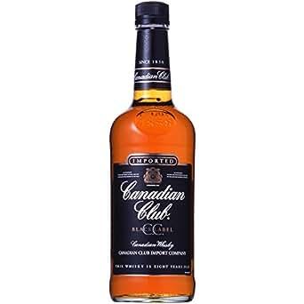 カナディアン ウイスキー カナディアン クラブ ブラックラベル 700ml