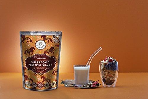 スーパーフード 植物性プロテイン えんどう豆 ヘンプ スムージー チョコ 完全無添加 お試し 33g 1食分