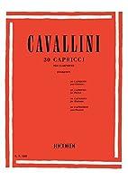 カヴァリーニ : 30の奇想曲 カプリス (クラリネットソロ) リコルディ出版