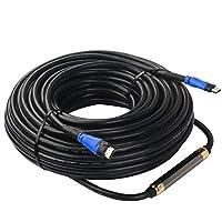 SHD HDMIケーブル ウルトラ HDMIケーブル Ver2.0(2.0規格) 4K 3D 1080P イーサネット オーディオリターンチャンネルに対応 30m (ブルー)