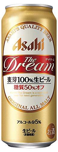 ザ・ドリーム 麦芽100%生ビール 糖質50%オフ 500ml×24本