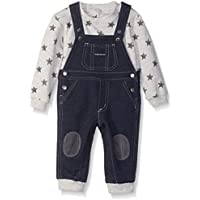 Calvin Klein Baby Boys 2 Pieces Overall Set