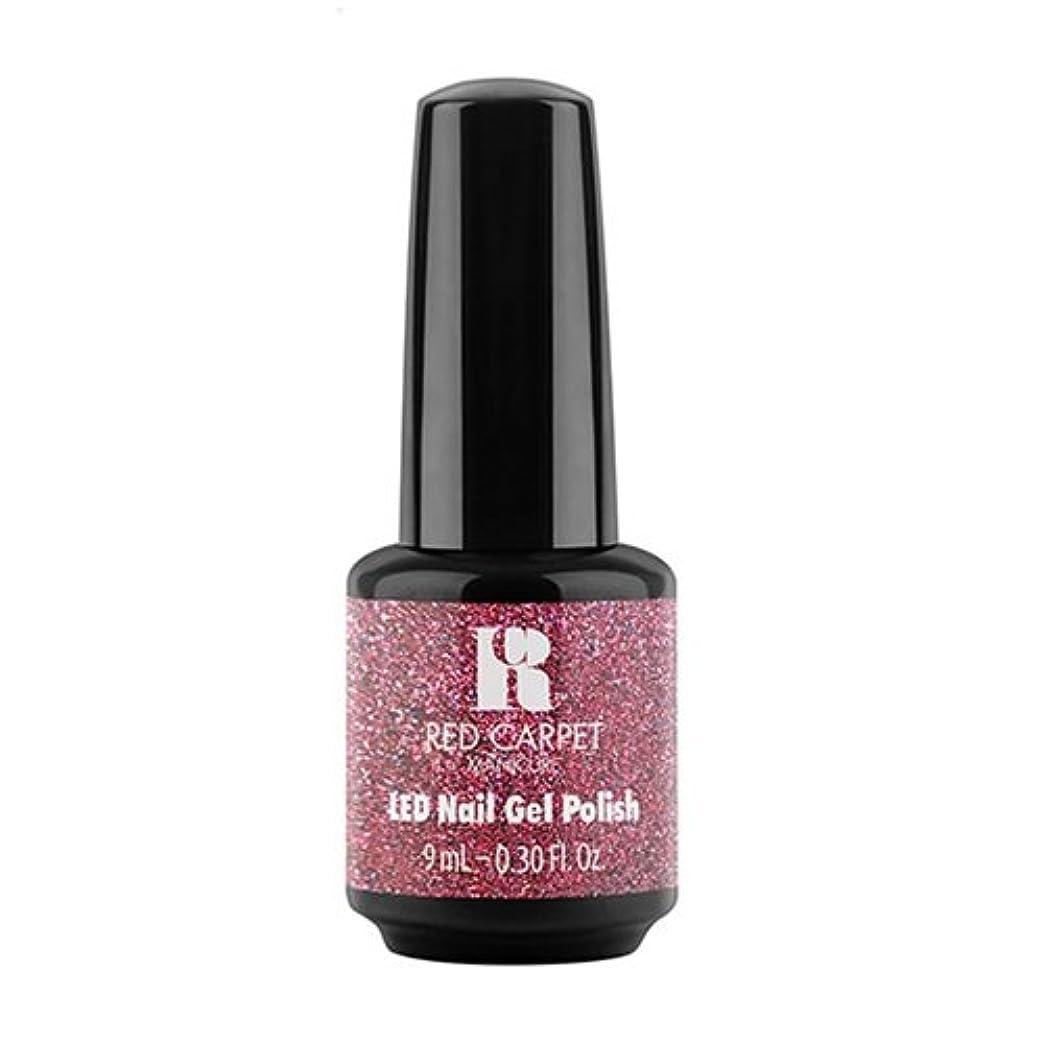 肺炎ブリリアント引退するRed Carpet Manicure - LED Nail Gel Polish - Bombshell Babe - 0.3oz / 9ml
