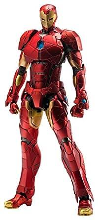 RE:EDIT IRON MAN #08 Shape Changing Armor ノンスケールPVC&ABS&ダイキャスト製塗装済み可動フィギュア
