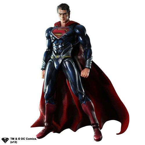Not Machine Specific MAN OF STEEL PLAY ARTS개 슈퍼맨(PVC도장필 액션 피규어)-662248812403 (2013-07-12)