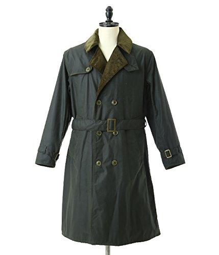 Barbour(バブアー) / Wax Trench Coat (ワックストレンチコート バブアー コート ジャケット オイル) 34 セージ