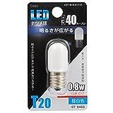 LEDナツメ球 E17/0.8W 昼白色 LDT1N-H-E17 11 07-6463 【まとめ買い10セット】