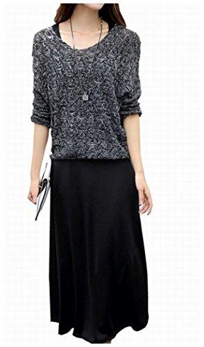 [해외](뷔라코챠) Viracocya 도루 무늬 뜨개질 니트 민소매 맥시 원피스 헤비 로테 코데 섹시 설치 여성/(Villa コ チ ャ) Viracocya Dolman patterned knit knit sleeveless maxi dress Hebirotekode sexy set ladies
