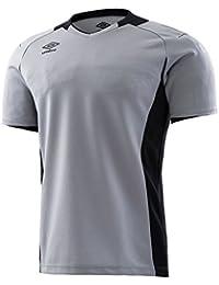 18SS UMBRO(アンブロ) (メンズ サッカー?フットサルウェア) ゴールキーパーシャツ ショートスリーブ サッカー ゲームシャツ?パンツ UAS6708G-SLV メンズ