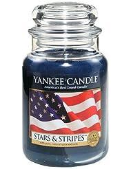 Yankee Candle Festival ofライト、Festive香り Large Jar Candle ブルー 1199444-YC