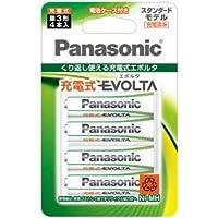 パナソニック(家電) 充電式エボルタ 単3形 4本パック(スタンダードモデル)