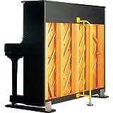 アップライトピアノ用 ピアノガード PIANO-GUARD (黄色) ピアノ耐震グッズ