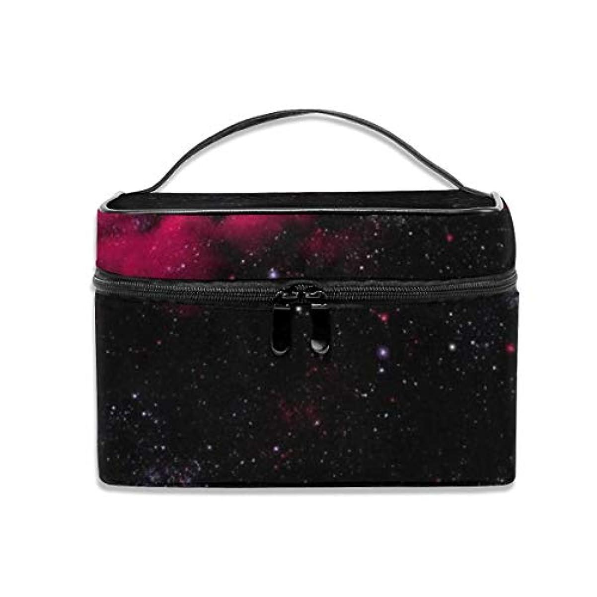 よろしくサラミ時期尚早ブラックホール化粧バッグポータブル旅行化粧品袋オーガナイザージッパートイレタリーバッグ用女性