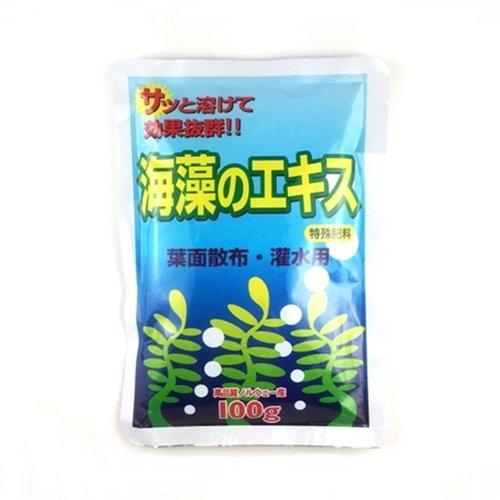 【 アクアポニックス用の肥料 】 海藻の...
