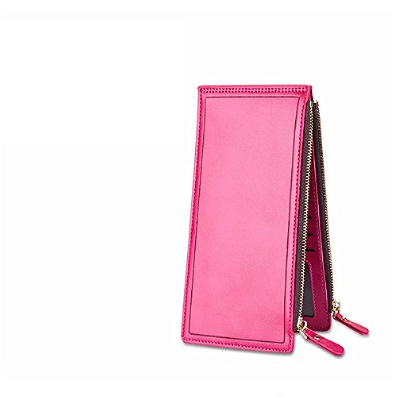女性の財布女性のハンドバッグロングカードホルダー携帯電話のカードホルダー