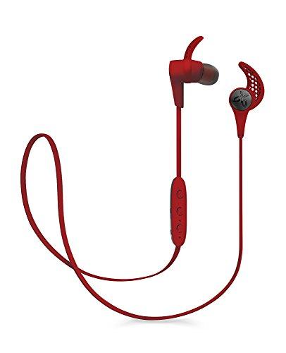 ロジクール カナル型ワイヤレスインナーイヤーヘッドフォン Jaybird X3 Wireless レッド JBD-X3-001RD  JBDX3001RD