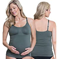Cake Maternity Women's Toffee Seamless Shaping Maternity and Nursing Tank