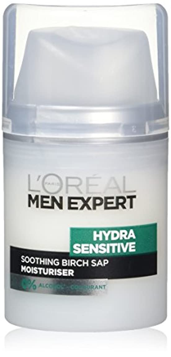 マングル鮫スポンジロレアル Men Expert Hydra Sensitive Moisturiser 50ml/1.6oz並行輸入品