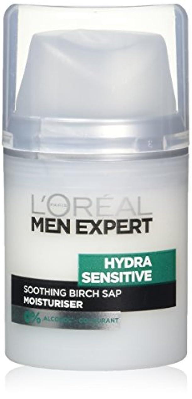 形暴動記者ロレアル Men Expert Hydra Sensitive Moisturiser 50ml/1.6oz並行輸入品
