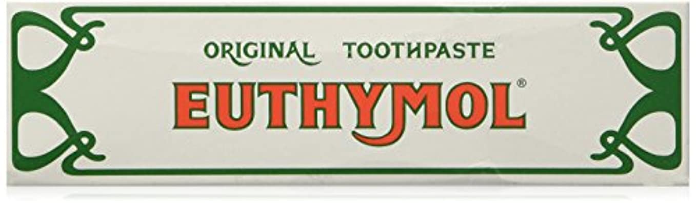 側溝レイ赤外線Euthymol Toothpaste - by Euthymol 75ml x 3 ユーシモル オリジナル ハミガキ 75ml x 3個