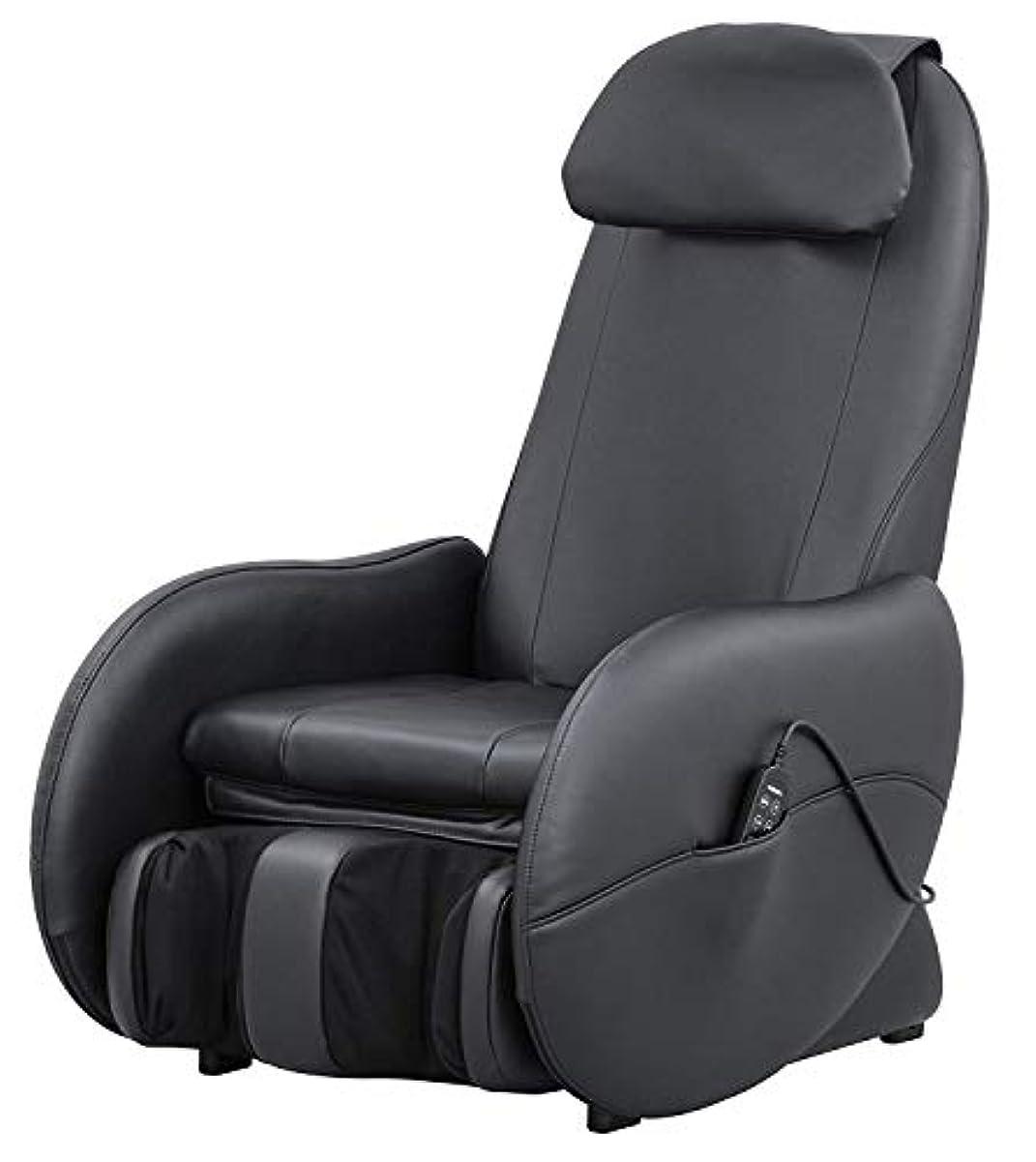 音楽家精通した樹木スライヴ くつろぎ指定席Light マッサージチェア CHD-3500-BK ブラック 正規品 おしゃれ コンパクト 小型