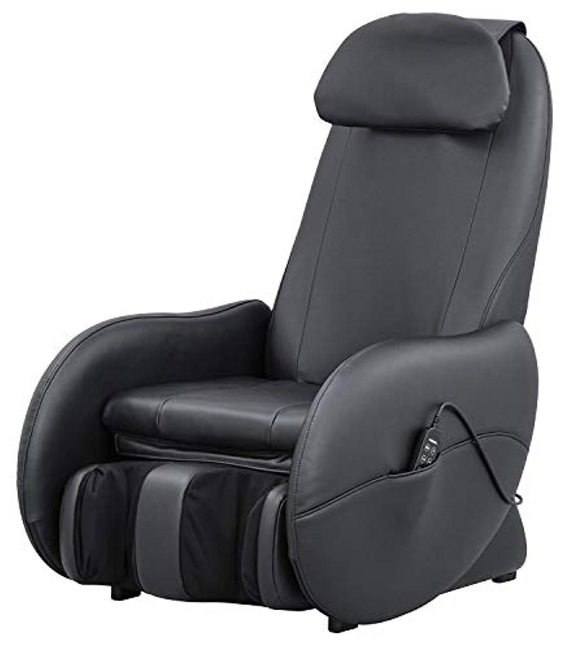 無駄な操る死ぬスライヴ くつろぎ指定席Light マッサージチェア CHD-3500-BK ブラック 正規品 おしゃれ コンパクト 小型