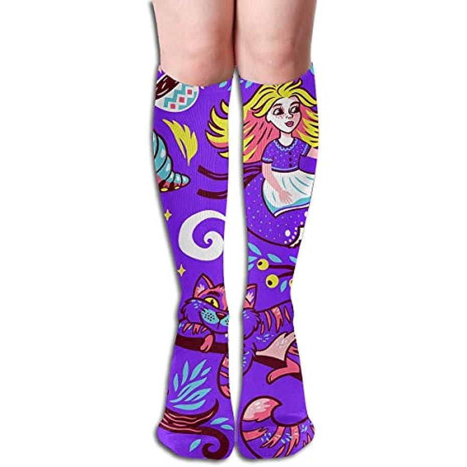 特権的誤解を招く終了するqrriyおとぎ話アリスチューブストッキングレディース冬暖かい暖かいハイソックスブーツ靴下