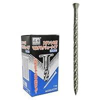 ノグチ 匠力 ステンレス釘 マルチスクリュータイプ パネル頭 13×45mm(1箱・1kg約570本入) #13X45