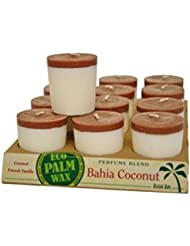 Aloha Bay 1135334 Aloha Bay Votive Candle - Bahia Coconut - Case of 12 - 2 oz